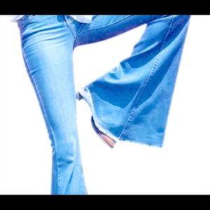 Bell Bottom Boho Jeans High Waist Jeans Size  26